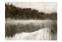 Misty Morning on the Lake Fine Art Print