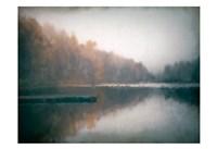 Cloudy Lake Fine Art Print
