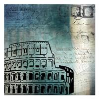 Roman Blue Fine Art Print