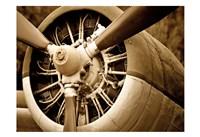 Plane Engine 2 Fine Art Print