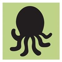 Octopus Cutout Fine Art Print