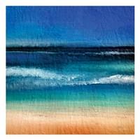 Sharp Beach Abstract Fine Art Print