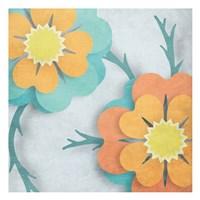 Flowers In The Wind Fine Art Print