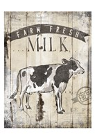 Farm Fresh Milk Fine Art Print