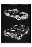 Car Black Print Fine Art Print