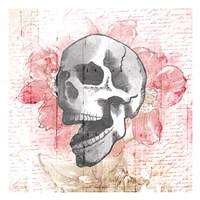 Floral Skull Fine Art Print