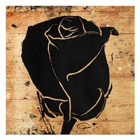 Ink Rose Fine Art Print