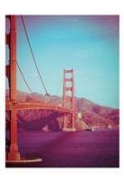 Retro Golden Gate Fine Art Print