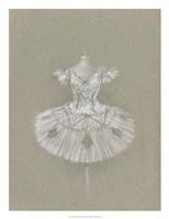 Ballet Dress II Framed Print