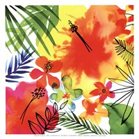 Jungle Hibiscus II Fine Art Print