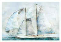 Sailboat Blues Fine Art Print
