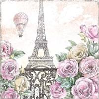 Paris Roses VI Fine Art Print