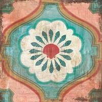 Bohemian Sea Tiles VIII Fine Art Print