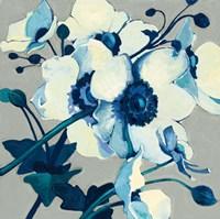 Anemones Japonaises II Framed Print