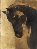 Trojan Horse II Gold Framed Print