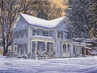 Hometown Holiday Fine Art Print