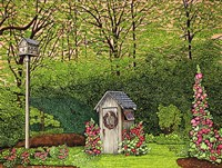 Outhouse Fine Art Print