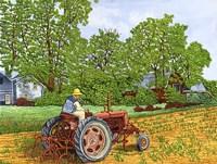 Farmall C Cultivator Fine Art Print