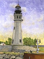 Buffalo Lighthouse II Fine Art Print