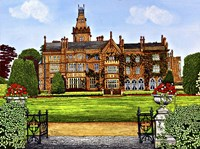 Ireland - Adare Manor, Co Limerick Fine Art Print