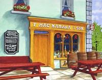 Ireland - Macnamara's Pub, Bunratty Fine Art Print