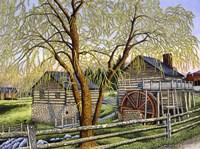 Mccormick Mill, Steeles Tavern Va Fine Art Print