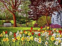 Spring Garden II, Eden Ny Fine Art Print