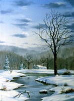 Winter Landscape 6 Fine Art Print