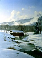 Winter Landscape 8 Fine Art Print