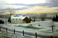 Winter Landscape 11 Fine Art Print