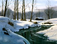 Winter Landscape 12 Fine Art Print