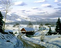 Winter Landscape 15 Fine Art Print