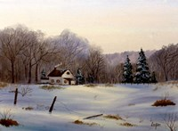 Winter Landscape 16 Fine Art Print