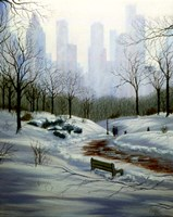 Winter in the Park Fine Art Print