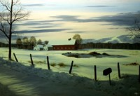 Winter Landscape 17 Fine Art Print