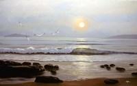 Beach Sunset Fine Art Print