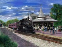 New Hope Station Fine Art Print