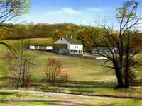 Valley Forge Farm Fine Art Print