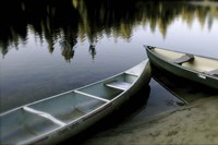 Canoes Fine Art Print