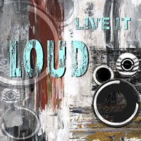 Live Loud I Framed Print