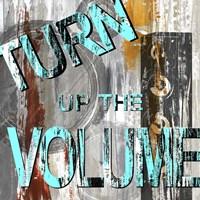 Turn It Up II Framed Print