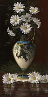 Daisies in Royal Worchester Fine Art Print