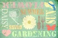Gardening Fine Art Print