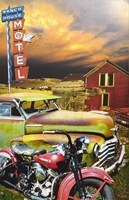 Ranch House Motel Fine Art Print