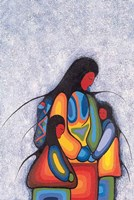 Winter Mother Fine Art Print