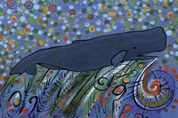 Petroglyph Sperm Whale Fine Art Print