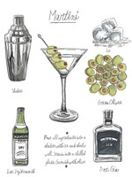 Classic Cocktail - Martini Fine Art Print