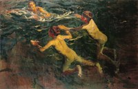 The Swimmers Fine Art Print