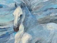 Poseidon Indigo Fine Art Print