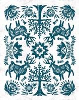 Otomi Deer Fine Art Print